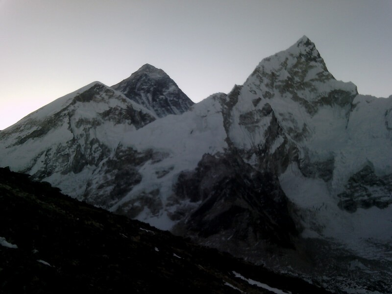 Everest view from Kalapatthar