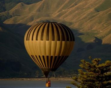 Hot Air Balloon in Nepal